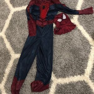 Spider Men Child Costume